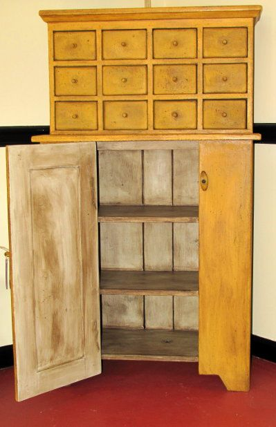 Apothacary Cupboard. Antique Painted FurniturePrimitive FurnitureDistressed  FurnitureCountry ...