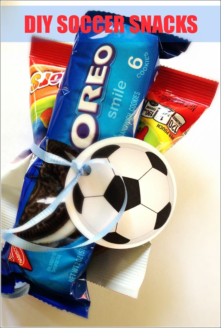 We don't have snacks anymore now that I'm in middle school, but for my future kids if they play soccer.