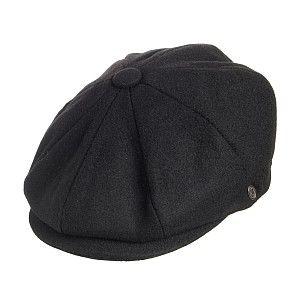 15.95 Casquette Gavroche Harlem noir JAXON de chez chapeauxetcasquettes.fr.  Commande x 6