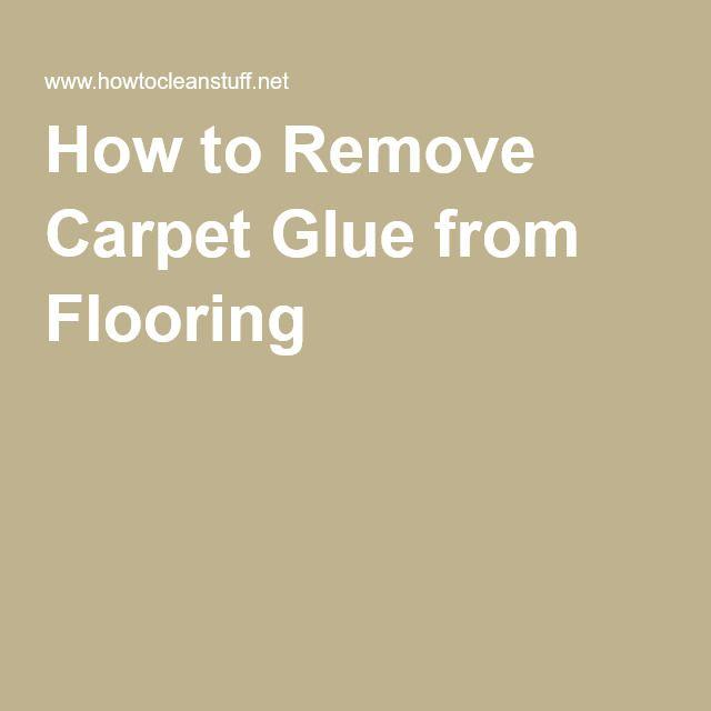 17 Best Ideas About Carpet Glue On Pinterest Yellow