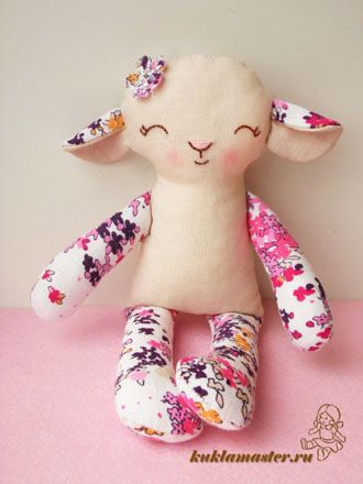 320 best the toy box images on pinterest fabric dolls plushies tilda sheep tutorial free template pronofoot35fo Images