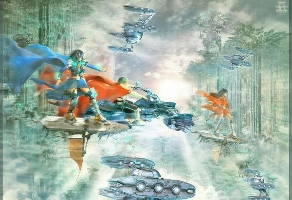Digital Art, Universe (Galaxy Fantasy), Universe galaxy  fantasy cosmos space outer space universe planet world globe digital art fantasy.
