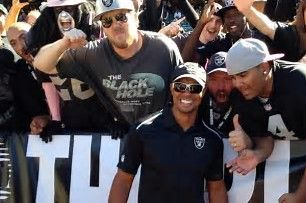 Image result for Celebrity Oakland Raiders Fans