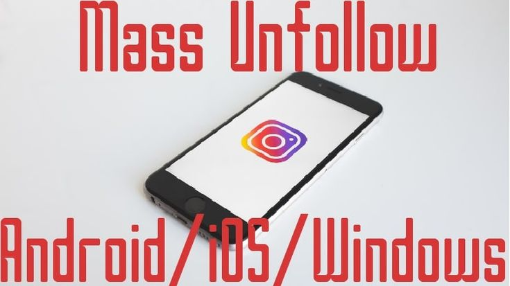 how to mass unfollow on instagram without getting blocked