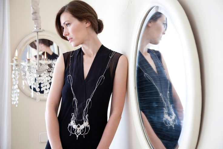 Atelier Natalie Capell Barcelona  Hand embroidered dresses
