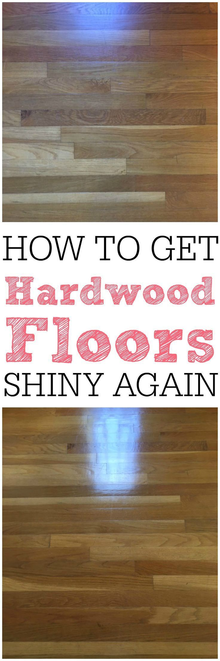 Tired of dull hardwood floors? Try these simple tricks on how to get your hardwood floors shiny again. You will love the results!