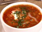 Ancho Chicken Tortilla Soup from Rachel Ray
