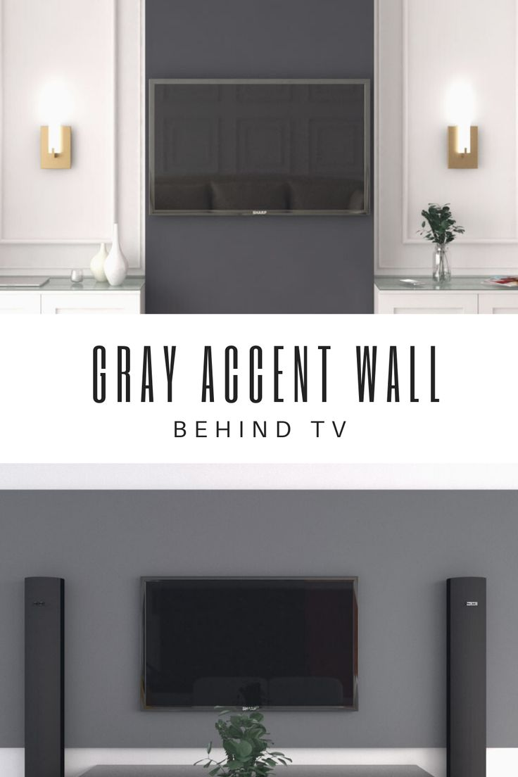 Gray Accent Wall Behind Tv Ideas Grey Accent Wall Dark Grey Walls Living Room Grey Accent Wall Living Room