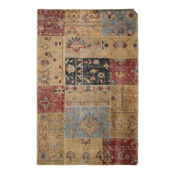 Antiquity Traditional Patchwork Rug