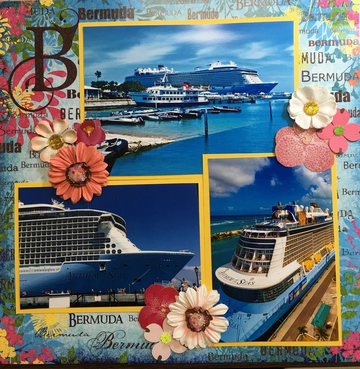 Anniversary Vacation In Bermuda: 421 Best Cruise Scrapbook Pages Images On Pinterest