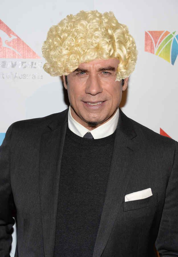 Here's a better option. | For Everyone Who Believes John Travolta Needs A New Wig. HAHAHA i love this