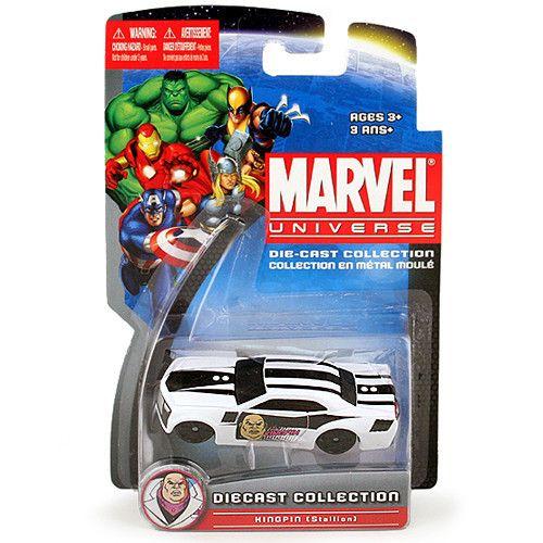 Marvel Universe Diecast Collection [Kingpin - Stallion]