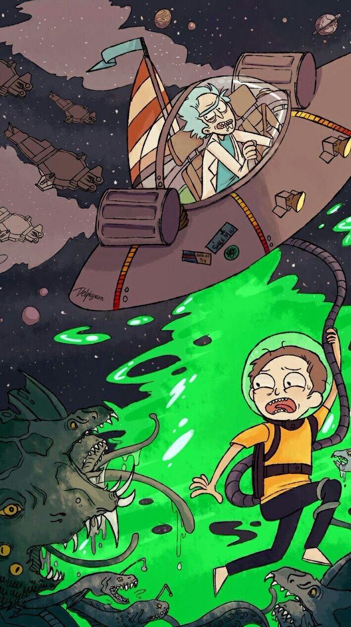 Rick and Morty   Rick, morty poster, Rick, morty, Cartoon