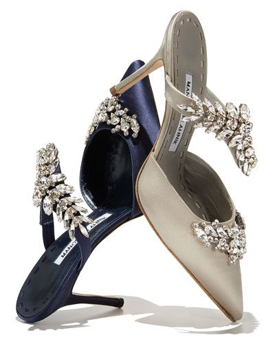 The Satin Shoe: Manolo Blahnik