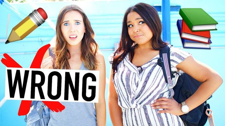 10 Things You're Doing Wrong: Back To School! School Hacks 2016!  10 Things You're Doing Wrong On The First Day of School For Back To School! These 10 school things you're doing wrong will help you for back to school 2016 and are back to school hacks and 10 life hacks!