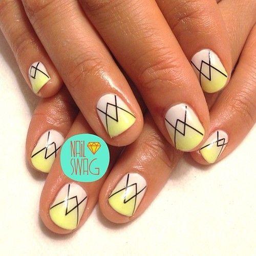 nail-swag:  THE ART BASEL NAIL for @Cheri Nicol Choi! Have fun boooo!...