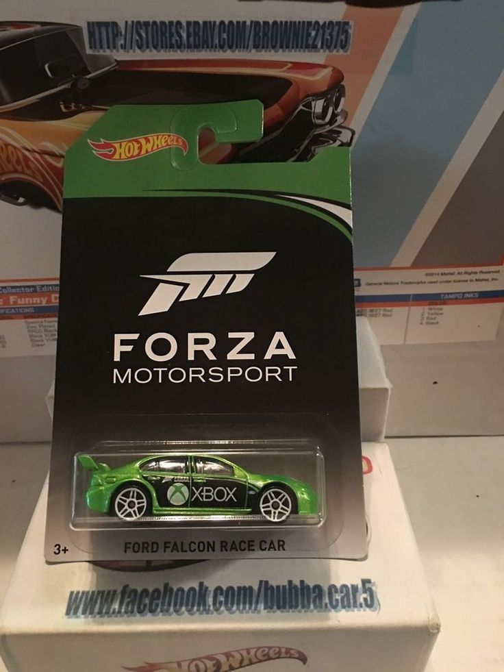 HOT WHEELS 2017 FORZA MOTORSPORT FORD FALCON RACE CAR CHASE #HOTWHEELS #Ford