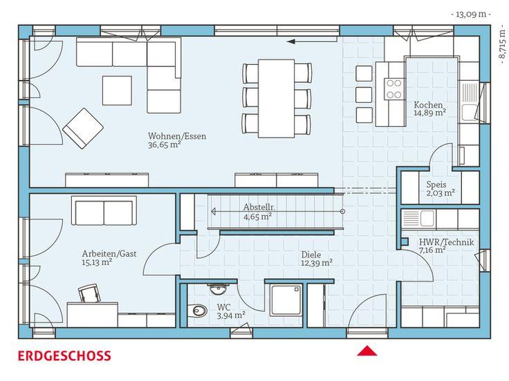 922 besten haus grundriss bilder auf pinterest architekten entwurf und erdgeschoss. Black Bedroom Furniture Sets. Home Design Ideas