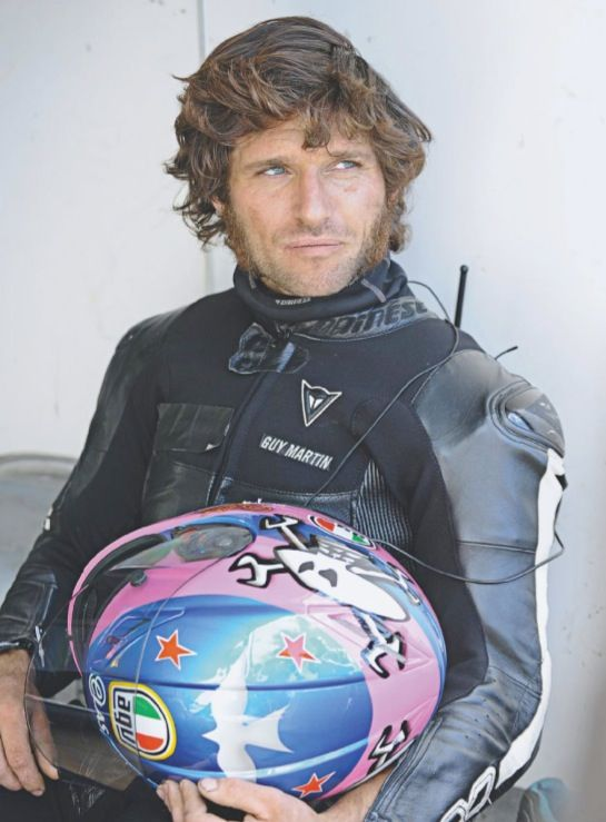 Guy Martin- this bloke is the nuts !