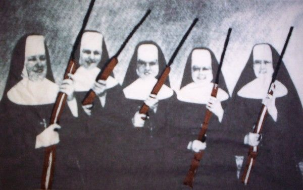 nuns with guns by jesi evans | ArtWanted.mobi