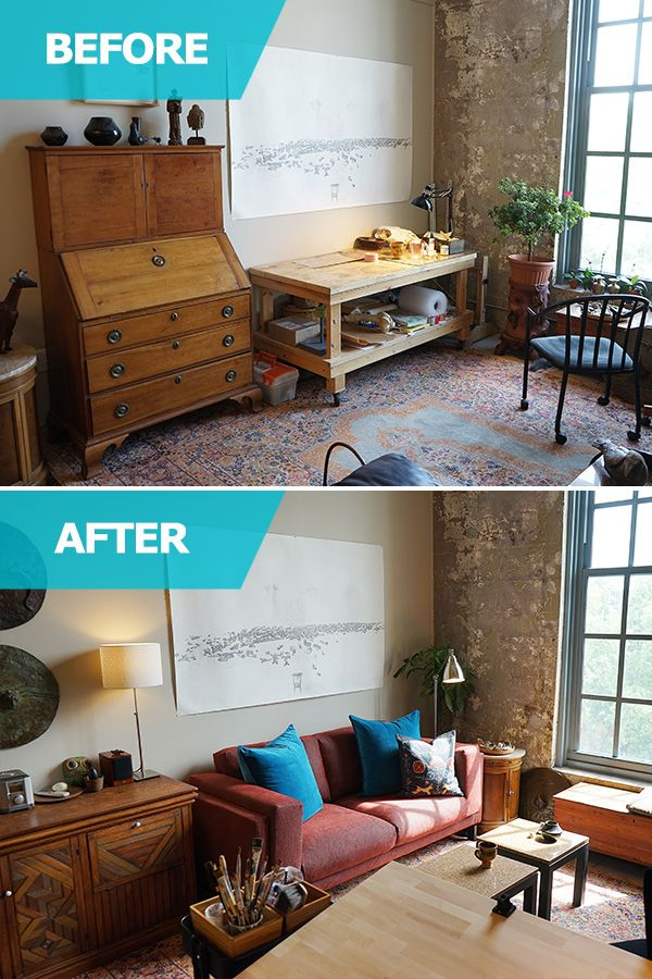The IKEA Home Tour Squad Helps Thriving Artist Nancy Randall Create A Living Room That
