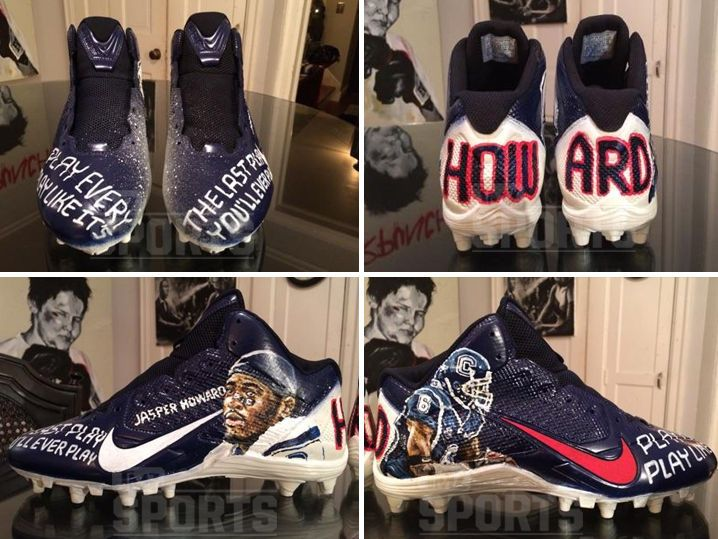 Antonio Brown's Playoff Cleats to Honor Slain College Football Star (PHOTOS)