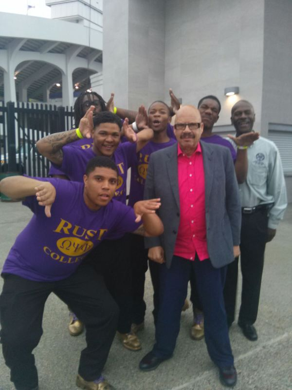 Omega Psi Phi Fraternity, Inc. from Rust College