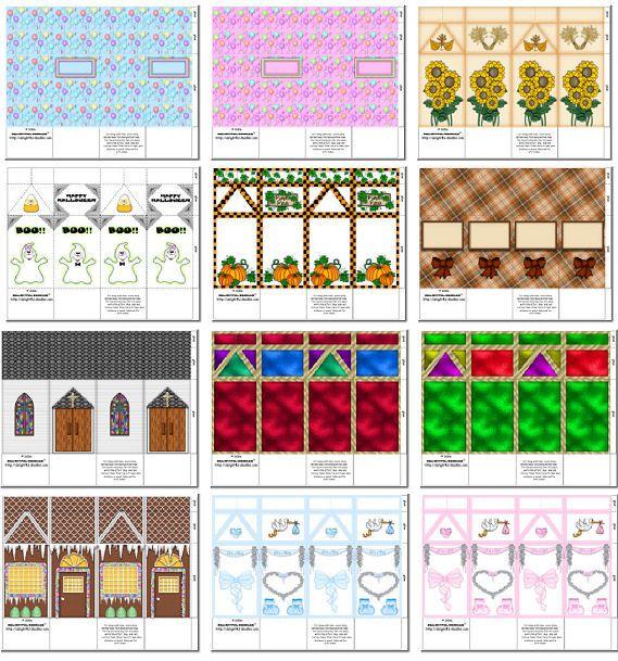 Printable Milk Carton Template | Milk Carton Boxes 1 - $8 ...  Printable Milk ...