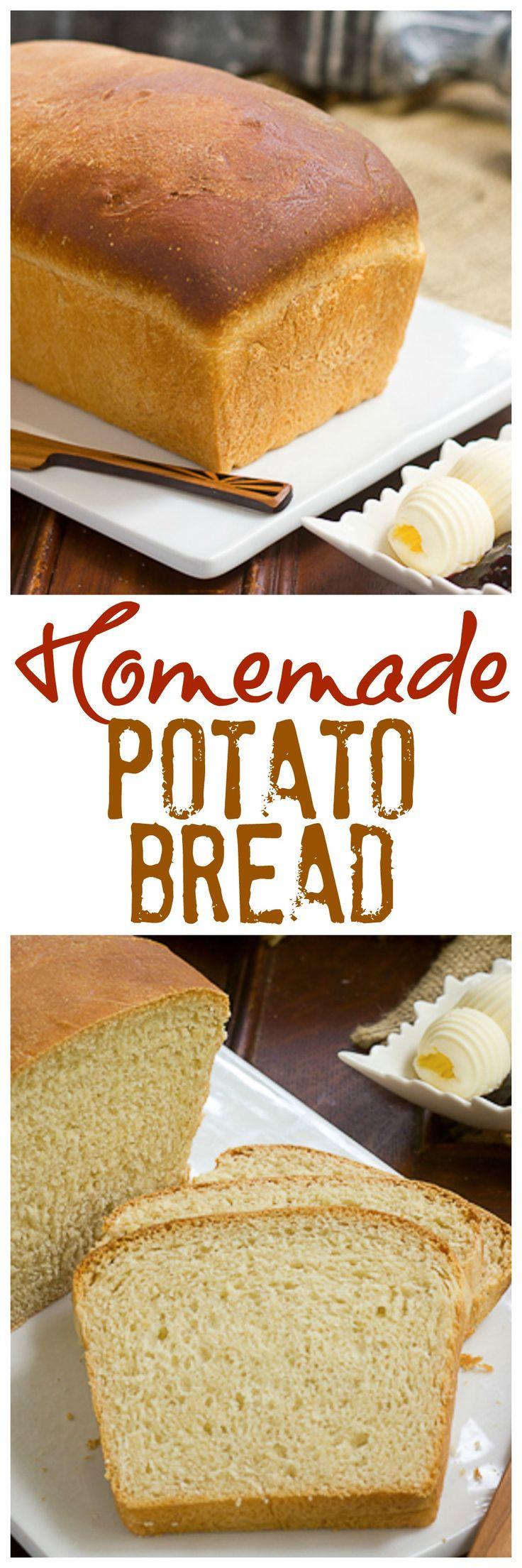 Potato Bread | The ultimate sandwich bread! @lizzydo