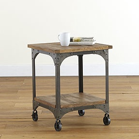 rustic tea cart   #barnlightelectric