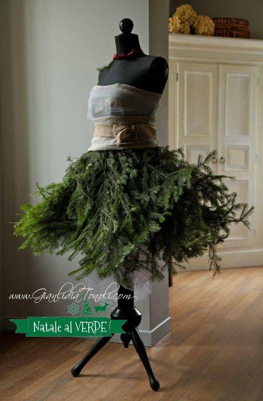 #sharenatalealverde L'abito del Natale al VERDE by Giato Salò