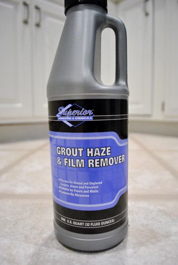 Hazy tiles from grout remains? Let Haze Remover do the work. No more buffing and scraping every last tile.