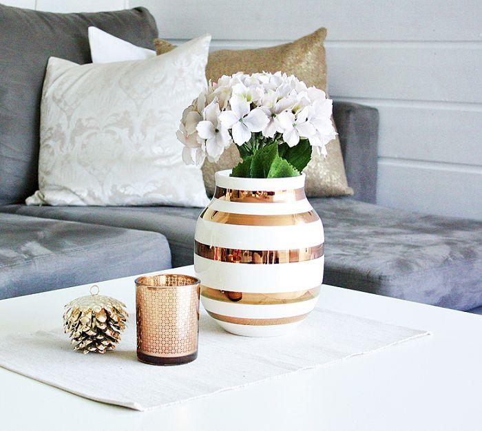 Gorgeous omaggio vase from Kähler.