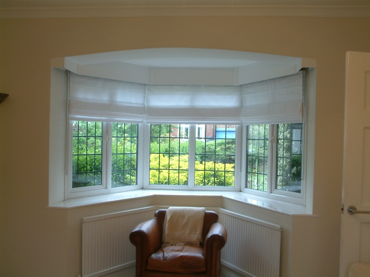 23 best our customers images on pinterest sunroom blinds blinds romans in a bay window hillarys blinds solutioingenieria Images