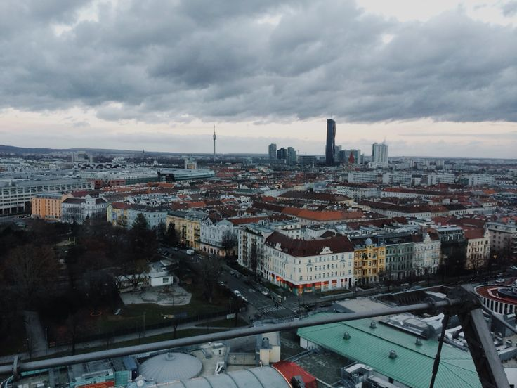 View of Vienna from the Prater Ferris Wheel