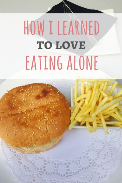 Never again will I eat a sad burger to avoid eating at a restaurant alone in public. See how i learned to love eating alone on Passport & Plates!