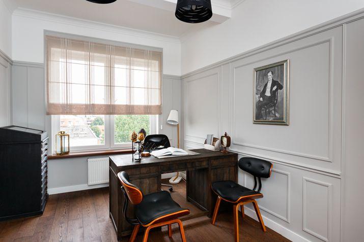Домашний кабинет в американском стиле