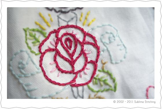 the four embroidery stitches you need to know with tutorials