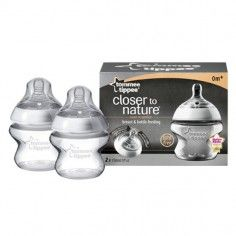 http://idealbebe.ro/tommee-tippee-closer-to-nature-biberon-150-ml-pp-p-9350.html Tommee Tippee - Closer to Nature Biberon 150 ml PP x 2