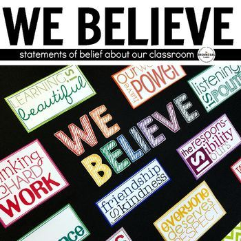 belief statement These belief statements are the foundation upon which the mission statement  was built the mission statement stands strong with these beliefs as its base.