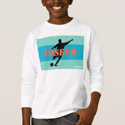 HAMbWG - Children's  T Shirt - Aqua Bands - kids kid child gift idea diy personalize design