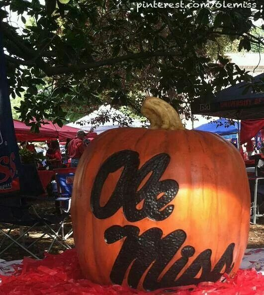 october games at ole miss require a pumpkin in your grove tent