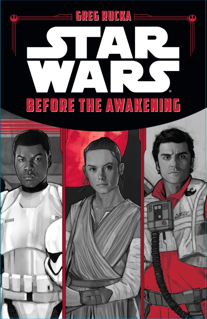 Before the Awakening Attribution information Publication information Chronology Before the Awakening is an anthology book by Greg Rucka focusing on the lives of Finn, Rey, and Poe Dameron prior to the events of Star Wars: Episode VII The Force Awakens. It was published by Disney–Lucasfilm Press on December 18, 2015. Intended for children ages eight to twelve, the book consists of 240 pages.