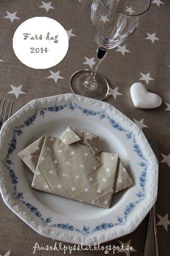 Fru Sohl Pysslar: Fars dag 2014