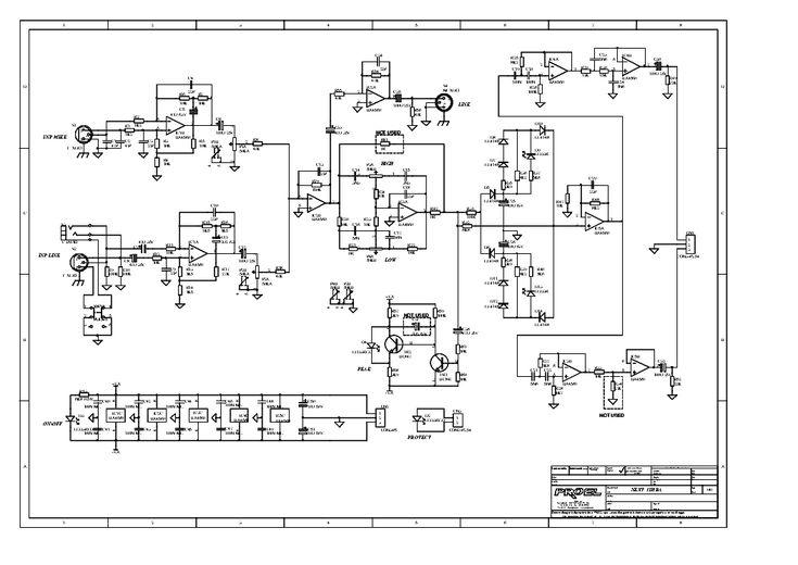 Proel Prl1400 Amplifier Sch Service Manual Download  Schematics  Eeprom  Repair Info For