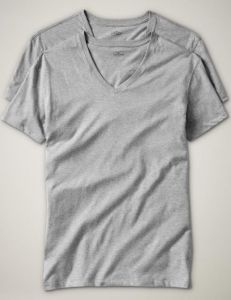 2 Camisetas GAP Cinza GA1010