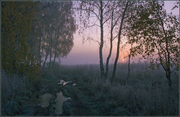 Вечер в начале осени