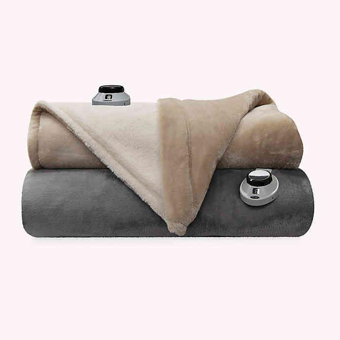 Therapedic Sherpa Reversible Warming Blanket Bed Bath Beyond Blanket Things To Sell Warm
