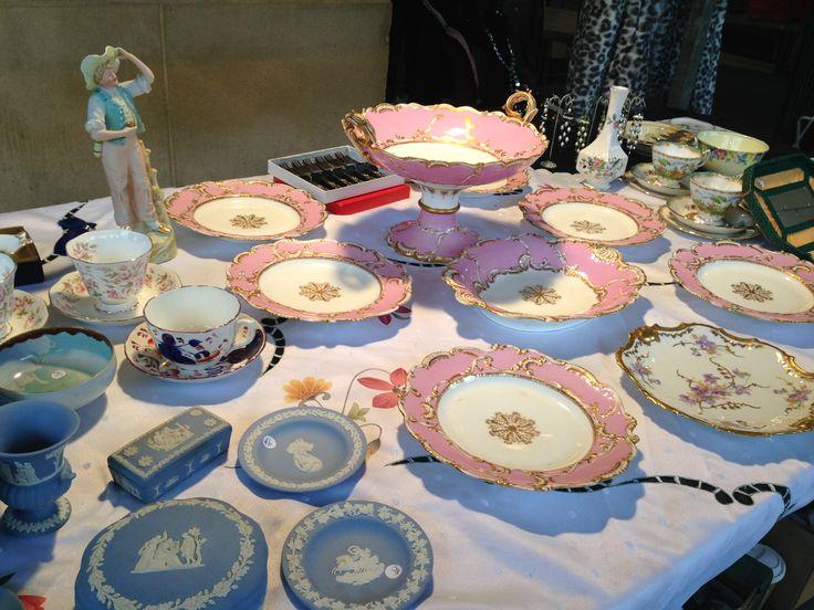 Ceramics at Antiques Market