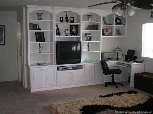 Built In Home Office Cabinetry Built For A Rancho